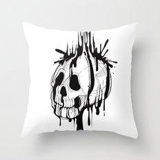 SKULL'INK Throw Pillow