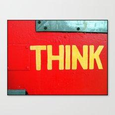Fine Art Photograph Called Think Canvas Print