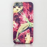 iPhone & iPod Case featuring Galactic Cats Saga 2 by Carolina Nino