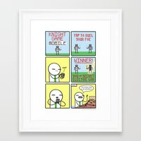 Antics #347 - Next Gen Framed Art Print
