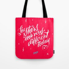 The Stars Look Very Diff… Tote Bag