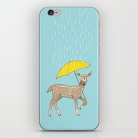 Rain Deer iPhone & iPod Skin