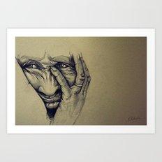 Worry Art Print