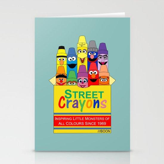 Color Me Sesame Stationery Card