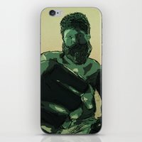 Roy 'Big Country' Nelson iPhone & iPod Skin