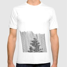 Cypress SMALL Mens Fitted Tee White