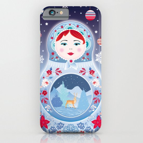 Our Lady of Winter iPhone & iPod Case