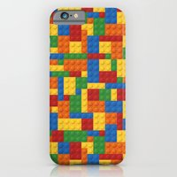 iPhone Cases featuring Lego bricks by eARTh