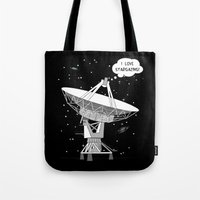 I Love Stargazing! Tote Bag