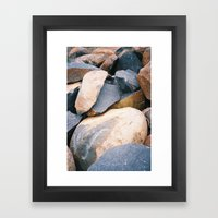 Rock Pile From NSW/ACT B… Framed Art Print