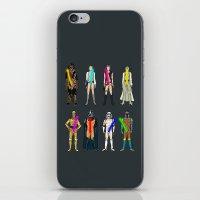 Glow in the Dark Naughty Starwars Lightsabers  iPhone & iPod Skin