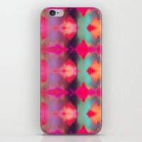 Watercolor Ikat iPhone & iPod Skin