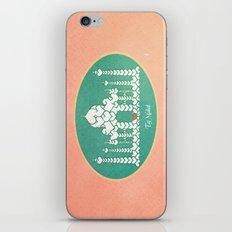 Taj Mahal is Love iPhone & iPod Skin