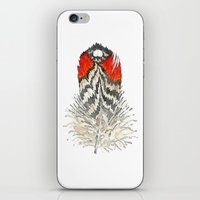 Red Feather - 03 iPhone & iPod Skin