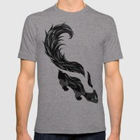 Skunk Mens Fitted Tee Tri-Grey SMALL