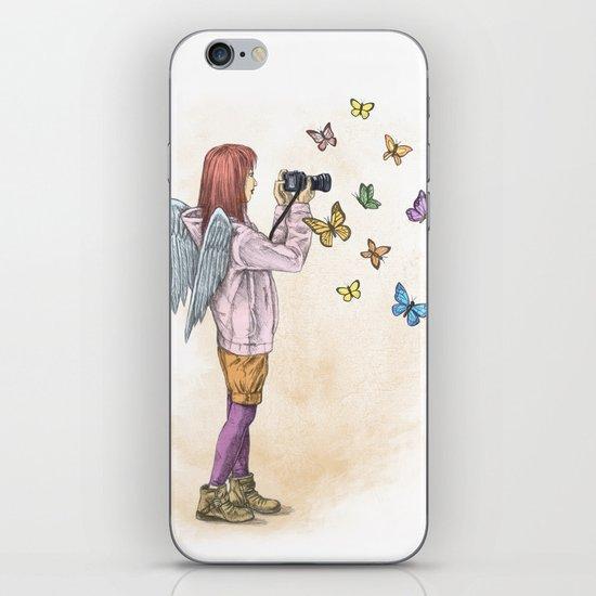 Photog Angel iPhone & iPod Skin