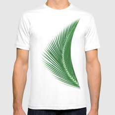 ARECALES II SMALL White Mens Fitted Tee