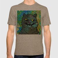 A CAT. Mens Fitted Tee Tri-Coffee SMALL