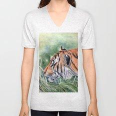 Bengal Tiger Unisex V-Neck