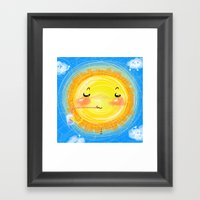 summer season Framed Art Print
