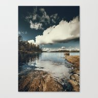 Canvas Print featuring Belle Svezia by HappyMelvin