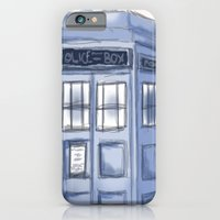 TARDIS iPhone 6 Slim Case