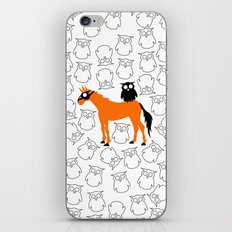 Owl Unicorn iPhone & iPod Skin