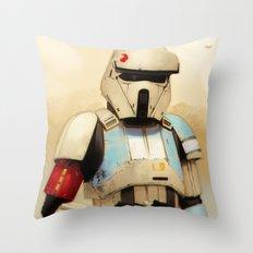 Shoretrooper Throw Pillow