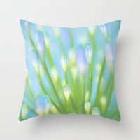 Blue & Green Throw Pillow