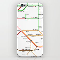 There And Back Again iPhone & iPod Skin