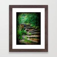 Follow Me to an Adventure Framed Art Print
