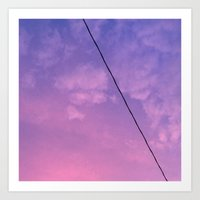 Sunset Clouds Art Print