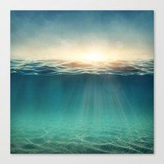 Sea Sunshine Canvas Print