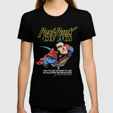 Super Mouth Strikes Agai… Womens Fitted Tee Black SMALL