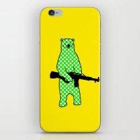 Dot Bear iPhone & iPod Skin