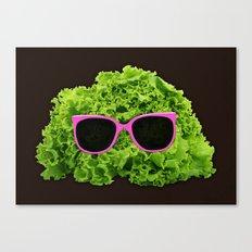 Mr Salad Canvas Print