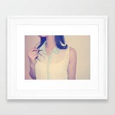 BLOUSE Framed Art Print
