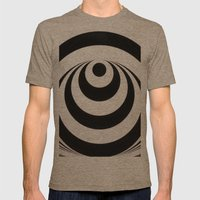 Look Into My Eyes Mens Fitted Tee Tri-Coffee SMALL