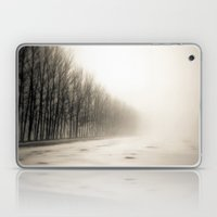 Trees in mist Laptop & iPad Skin