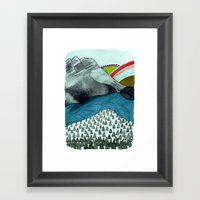 Landscapes / Nr. 4 Framed Art Print