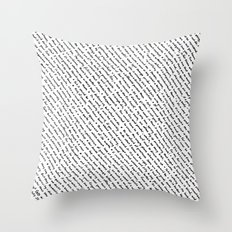 Literary Quotes Throw Pillow