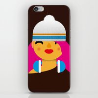 B-Girl iPhone & iPod Skin