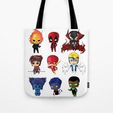 Chibi Heroes Set 2 Tote Bag