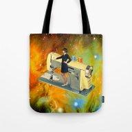 Barbara's Spaceship Tote Bag