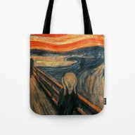 The Scream By Edvard Mun… Tote Bag