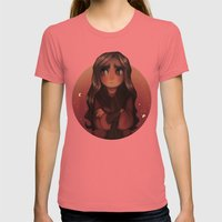 Ava Ire Womens Fitted Tee Pomegranate SMALL