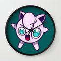 Poke A Derp 2 Wall Clock