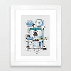 Ten Golden Rules Framed Art Print