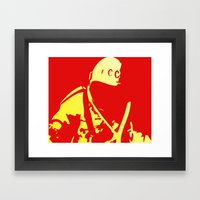 O Kosmonaut! My косм… Framed Art Print