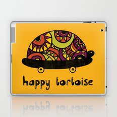 Happy Tortoise Laptop & iPad Skin